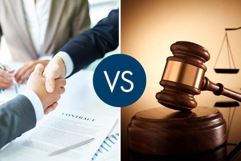 Δικαστική Διαδικασία vs Διαμεσολάβηση (σύγκριση)